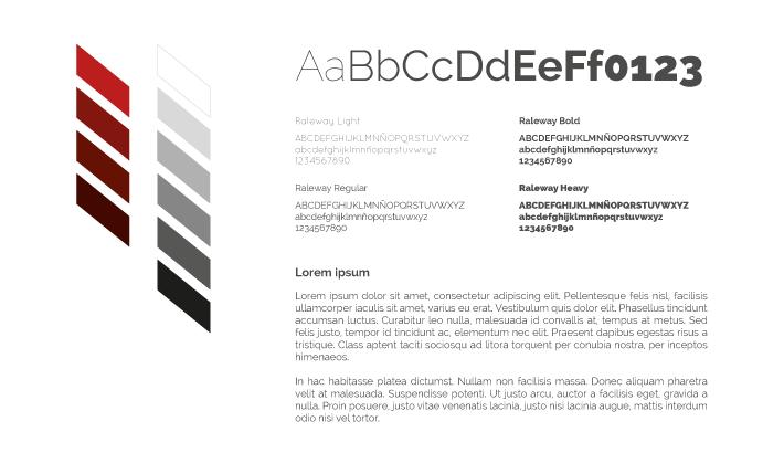 Mirage / Paleta y Tipografía